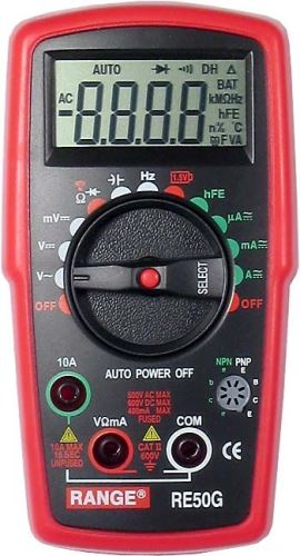 MULTIMETRY a měřicí přístroje