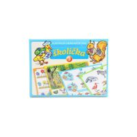 hra - Elektrická výuka, Školička 3, stolní výuková hra pro předškoláky