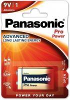 baterie PANASONIC 9V aklalická