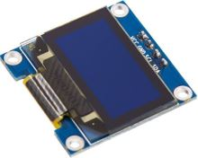 OLED display I2C 128x64 bílý