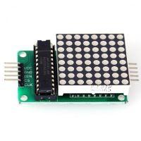 8x8 LED matice červená - MAX72