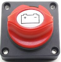 odpojovač autobaterie 250A/500A odnímatelný knoflík