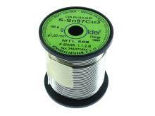 cín bezolovnatý Sn97Cu3 1mm 100g (230-250°C)