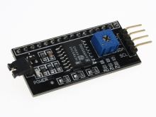 I2C interface pro alfanumerické displeje