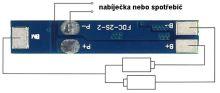 modul - balancér - ochranný modul pro 2 Li-ion 18650A (max 3A)
