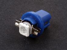 Autožárovka LED 12V- 0,5W (B8,5D) modrá
