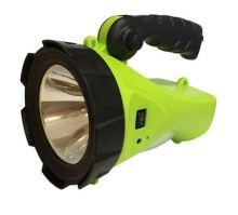 svítilna aku Konnoc S2185 5W LED(+1W),nabíjecí - zelená