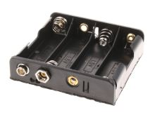 držák baterií 4xR6 (AA, 'tužka')