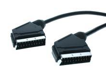 videokabel SCART V-SCART V 3m 21p