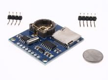 RTC + micro SD slot