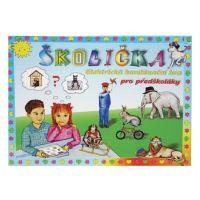 hra - Elektrická výuka, Školička 1, stolní výuková hra pro předškoláky