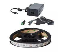 LED pásek - 14,4W/m UV 2,5m - sada včetně zdroje