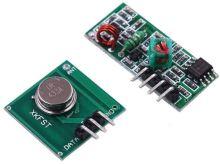 modul - dálkové ovládání - vysílač a přijímač,433Mhz
