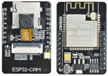 ESP32-CAM vývojová deska 2,4GHz WiFi+Bluetooth (s kamerou)