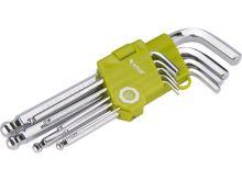 EXTOL sada inbus klíčů (9ks) 1,5-10mm