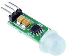 PIR senzor - modul pohybu 8s spoždění