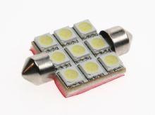 Autožárovka LED sufit  SV8,5-8 12V - 0,85W