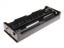 """plastový držák baterie 6xR20 (D,""""velký buřt"""") s klipsem"""