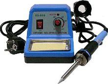 páječka ZD-932 stanice s regul. 48W (modrá keramická stanička)
