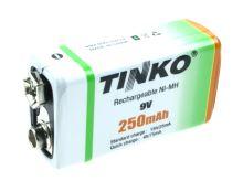 akumulátor 9V/250mAh NiMH TINK