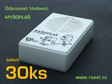Myšoplaš Rasel - odpuzovač hlodavců s vypínačem (balení 30ks)