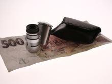 kapesní mikroskop - zvětšení 6